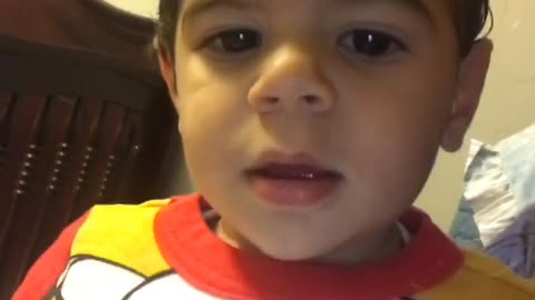 "Toddler literally answers ""no"" to everything"