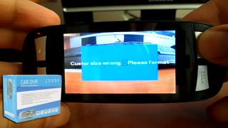 How to fix error messages on your G1W Dash Cam - Video