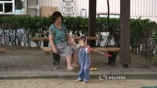 South Korean grandparents update kid care skills - Video