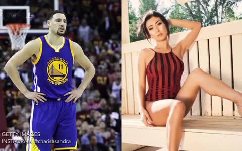 Klay Thompson's Girlfriend Spray Paints Her Name On His House