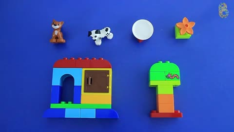 Learning how to Build and Rebuild with Lego Duplo Creative Play Toys