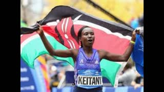 Kenyan Mary Keitang Wins Third Straight New York City Marathon - Video