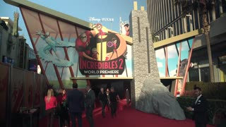 'Incredibles 2' Premiere - Video