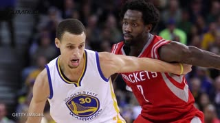 Stephen Curry Fights Patrick Beverley In Game 1 of NBA Playoffs - Video