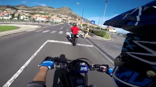 Yamaha WR125X (x2) & DT125R (x1) DT125R SM (x2) || GoPro Hero3+ || Part 2 || Madeira Island - Video