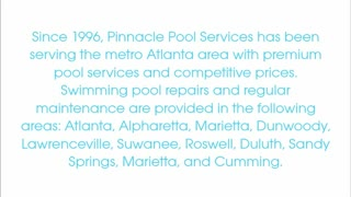 pool maintenance atlanta - Video