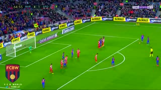 El golazo de falta de Neymar - Video