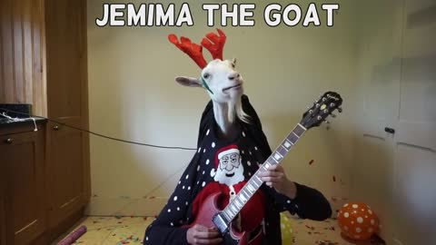 Guitar-playing goat plays flawless 'Jingle Bells' cover
