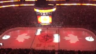 Pittsburgh Penguins sing 'O Canada' following Ottawa tragedy - Video