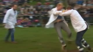 Ouch, You Kicked Me! - Video