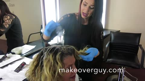 MAKEOVER: Naturally Curly Hair