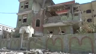 Two killed in Saudi-led air strikes: officials - Video