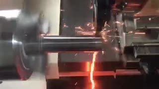 Cutting Hot Lightning from a Thompson Shaft - Video