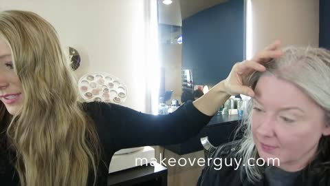 """MAKEOVER! """"Donate My Hair to Children With Hairloss,"""" by Christopher Hopkins, The Makeover Guy®"""