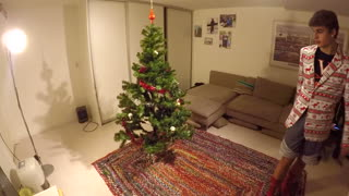 Soccer Skills to Decorate Christmas Tree - Video