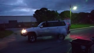 Nissan Patrol Burnout Fail - Video