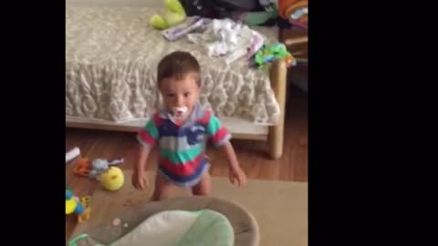 Toddler is a one-man dancing machine