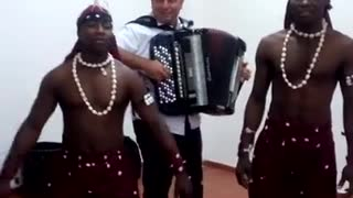 African Man Play - Video