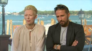 "Cast of ""A Bigger Splash"" talk about refugees, challenges and singing and dancing - Video"