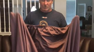 How Men Fold a Fitted Sheet - Video