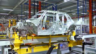 Mini 5-door Production - Body Shop - Video