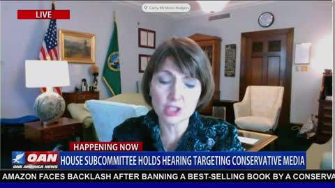 Rep. Rodgers Slams Dems On Attempt To Censor Media