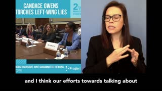 Candace Owens Torches Left-Wing Lies