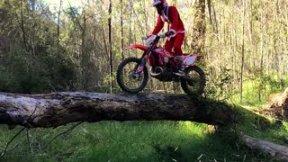 Dirt Bike Santa - Video