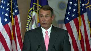 Boehner to step down - Video