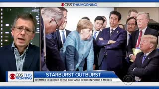 Trump Reportedly Threw Starburst At Angela Merkel During G-7 - Video