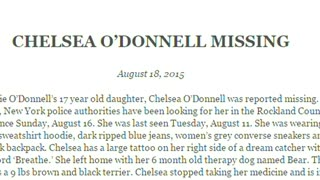 Actress Rosie O'Donnell reports teenage daughter missing in New York - Video