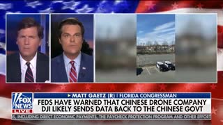 Gaetz calls out Chinese-made drones