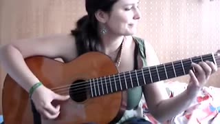 Malaguena Flamenco guitar - Video