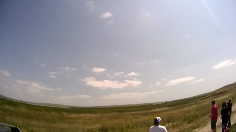Total Eclipse over Nebraska (Wide Angle View)
