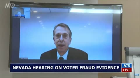 Part 1: Nevada Hearing on Election Fraud December 03, 2020-