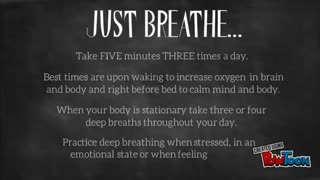 Benefits of Deep Breathing - Video