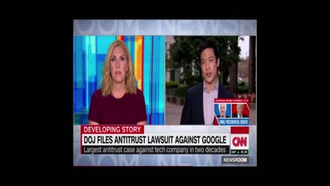 DOJ Sues Google In Antitrust Lawsuit