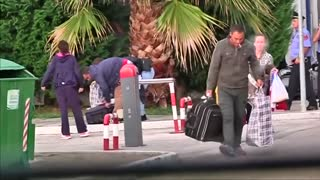 Albanian asylum seekers deported from Germany - Video