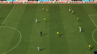 Borussia Dortmund vs Wolfsburg - Bundesliga - Simulation FIFA EA - Video
