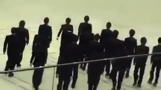 University Students Amazing coordination