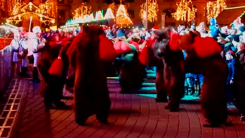 The strange, dark nights of Romania's bear dancers