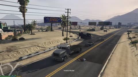 A simple day in the GTA V