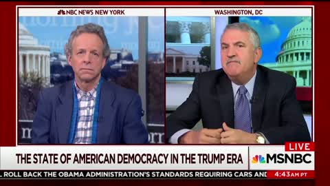 NYT Columnist: 'Biggest Threat to Our Democracy Is Sitting in the Oval Office'
