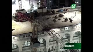 Crane accident claims scores of lives in Mecca - Video