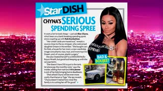 Blac Chyna's Spending Spree!  on Extra HOT T - Video