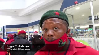 Economic Freedom Fighters (EFF) explain their anti-Clicks actions.
