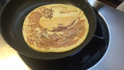 Pancake Art, too adorable to eat