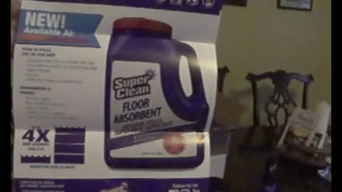 January 25,2021 Unboxing SuperClear degreaser