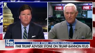 'A Stunning Act of Betrayal': Roger Stone Reacts to Bannon Quotes in Wolff Book - Video