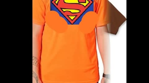 Superman Printed Blue Colour T Shirts